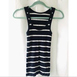 J. Crew black and white tank top